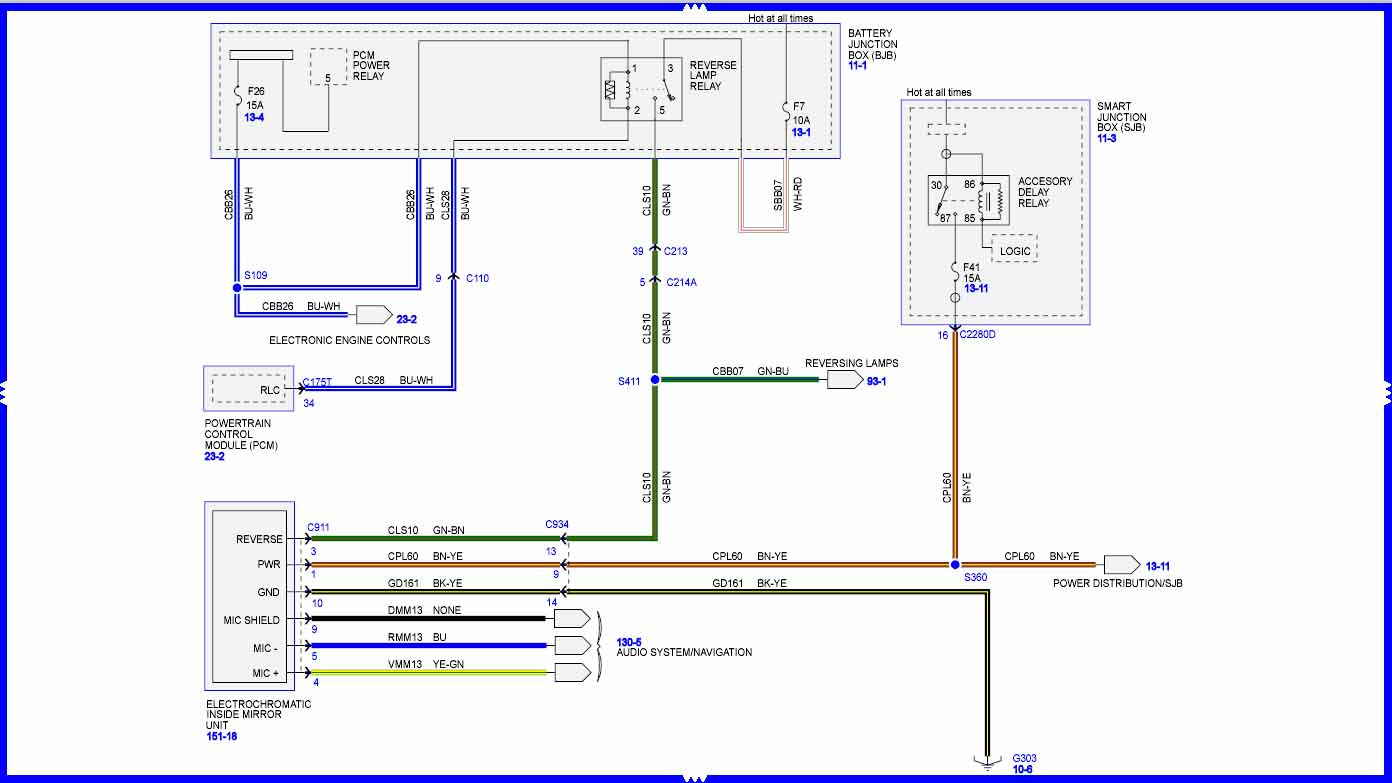 Wiring Diagram  32 2008 F250 Mirror Wiring Diagram
