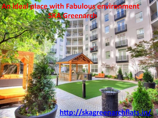 SKA Greenarch- 2/3 BHK ready to move flats in Noida Extension