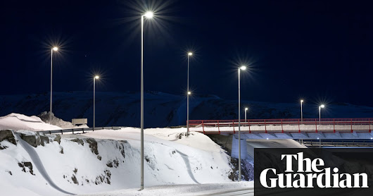 Darkest hours: Iceland's eerie winter – in pictures | Art and design | The Guardian