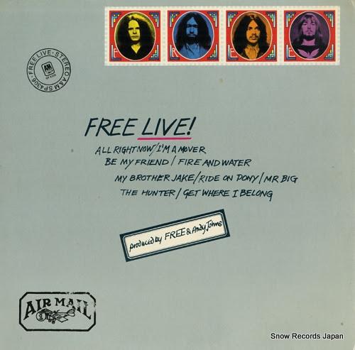 フリー free live! Vinyl Records