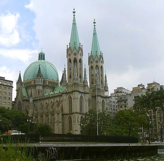 Metropolitan Cathedral of São Paulo, Brazil