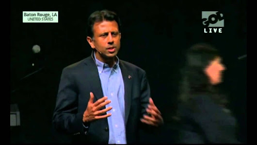 Bobby Jindal promotes Christian Nationalism at prayer rally