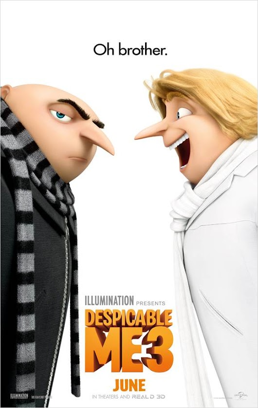 Despicable Me 3 arrives in theaters June 30th ~ Check out the New Trailer #DespicableMe3