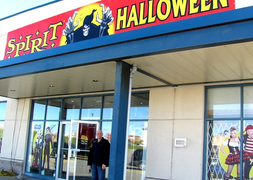 My Creative Life: Spirit Halloween Store in Bayers Lake ...