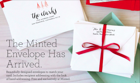 Win $200 For Your Gorgeous Minted Holiday Cards! : These Little Waves