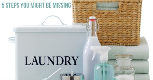 The Right Way to Do Laundry - 5 Steps You Might Be Missing | Clean Mama, Laundry and Cleanses