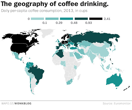 19 maps and charts that explain pretty much everything about coffee
