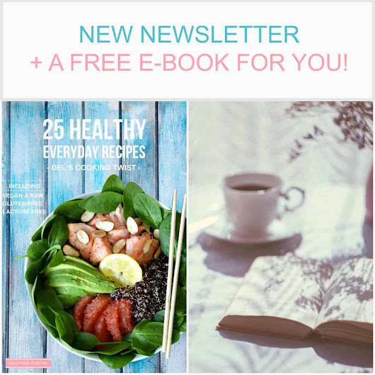A New Newsletter + a FREE e-book to download