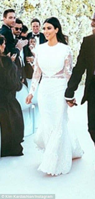 Claire Danes wore Kim Kardashian's Givenchy wedding dress