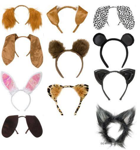 Animal Ears Headpiece Headband Head Alice Band Adult & Child Girls Fancy Dress   eBay