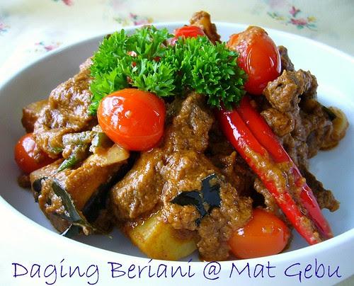 Daging Beriani