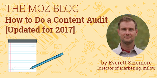 How to Do a Content Audit [Updated for 2017]