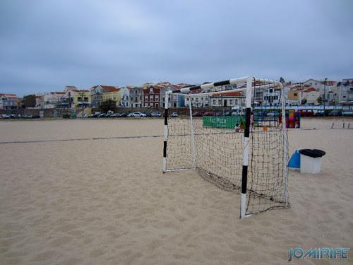 Campos de praia da Figueira da Foz / Buarcos #11 - Futebol na areia com balizas pequenas (2) [en] Game fields on the beach of Figueira da Foz / Buarcos - Football in the sand with small goals