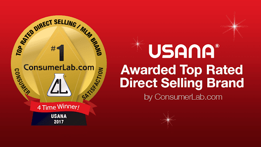 ConsumerLab.com Survey Names USANA Top Direct Selling Brand