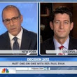 WATCH: Matt Lauer Grills Paul Ryan