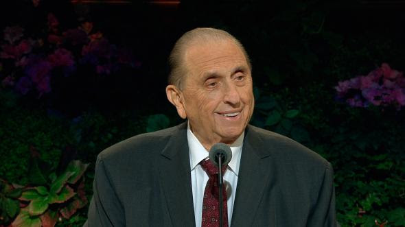 We Never Walk Alone By President Thomas S Monson
