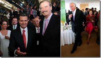 Enrique Vicente Fox y Marcelo de los Santos