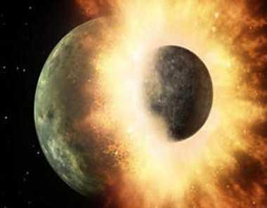 चंद्रमा के जन्म के दौरान नष्ट होते बची थी पृथ्वी