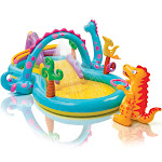 "Intex Dinoland Play Swim Center, Size: 131""L x 90''W x 44''H"