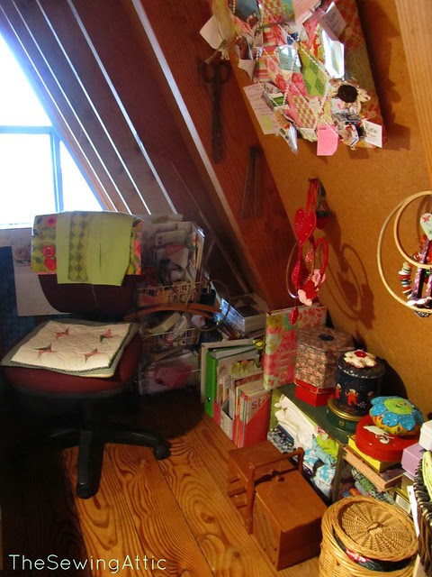 New Layout of my sewing attic