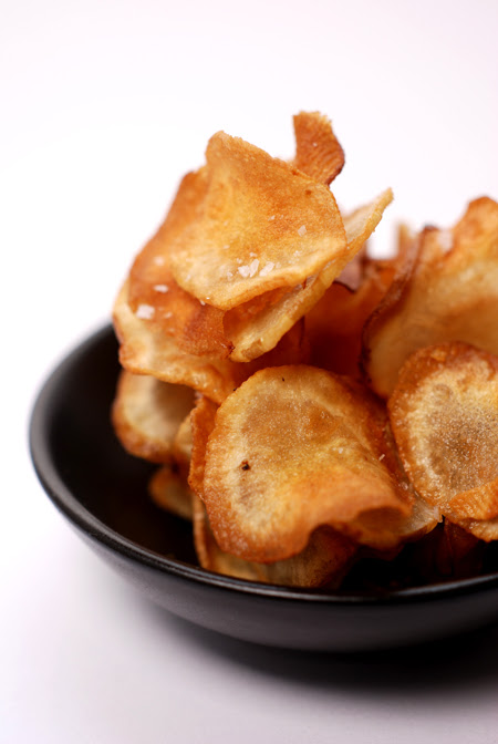 Jerusalem Artichoke Crisps© by Haalo