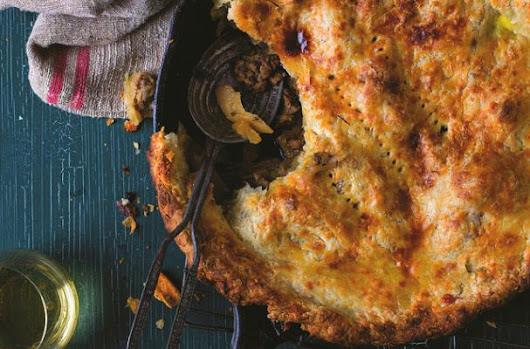 Perfect for Fall: Comforting Sausage and Apple Pie with Cheddar Crust