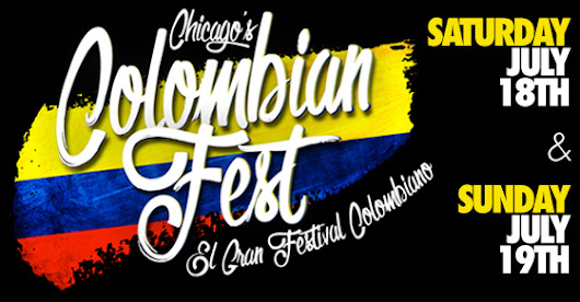 Colombian Fest - Chicago - July 18 & 19 2015