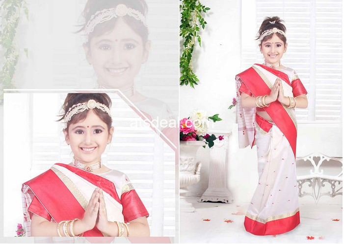Beautiful Sarees for Kids
