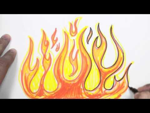 Nasıl çizmek Için Alevler Grafiti çizim Dersi Mat Ateş Netgezcom