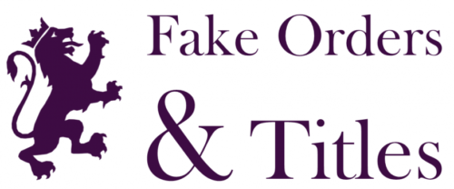 FAKE ORDERS | ARISTOCRACIAS