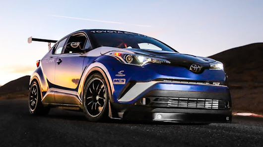 This Toyota C-HR achieves coolness thanks to 600 hp and a manual - Autoblog