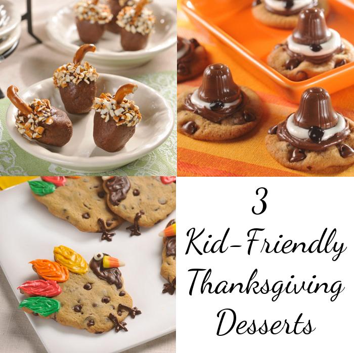 3 Kid Friendly Thanksgiving Desserts Momstart