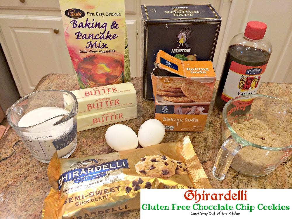 Ghirardelli Gluten Free Chocolate Chip Cookies - Can't ...