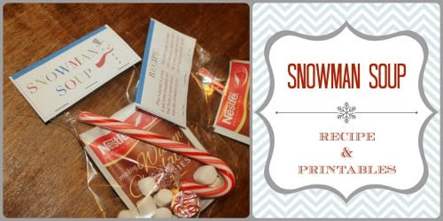 25 Days of Holiday Treats: Snowman Soup | Simply Real Moms