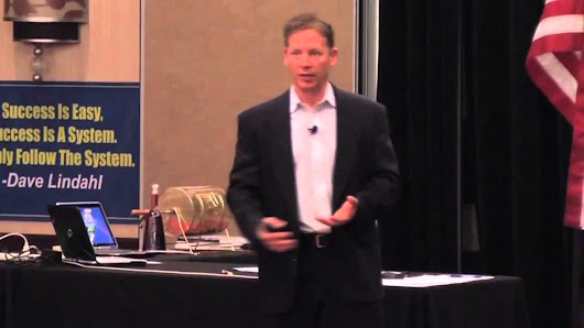 Dave Lindahl at one of his multifamily bootcamps