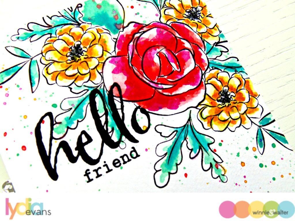 Winnie & Walter Anna's Floral Watercolour_2