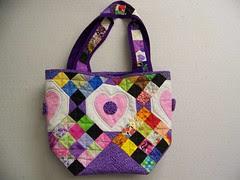 Laura's lotto block bag
