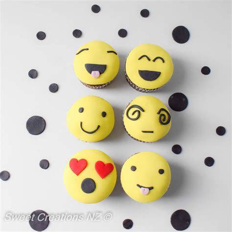 Emoji Cupcake Decorating for Kids   Sweet Creations Ltd in