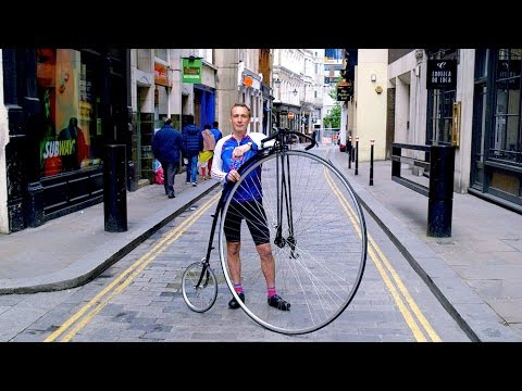 The Sport of Penny Farthing Bicycle Racing Is Alive and Well