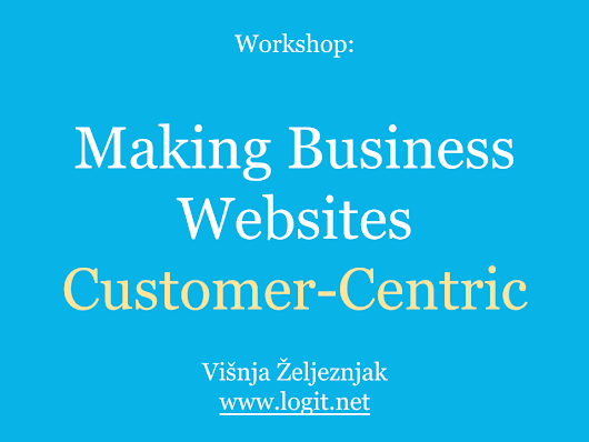 We Taught a Workshop on Making Business Websites Customer-Centric