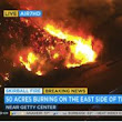 Raging Wildfires in Southern California and Increased Auto Accidents - Barry P. Goldberg