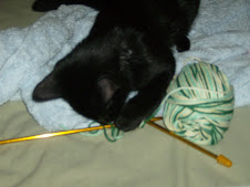 Grim wants to try knitting...