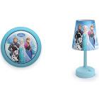 Philips Disney Frozen LED Touch Night Light w/ Philips Disney Frozen Table Lamp