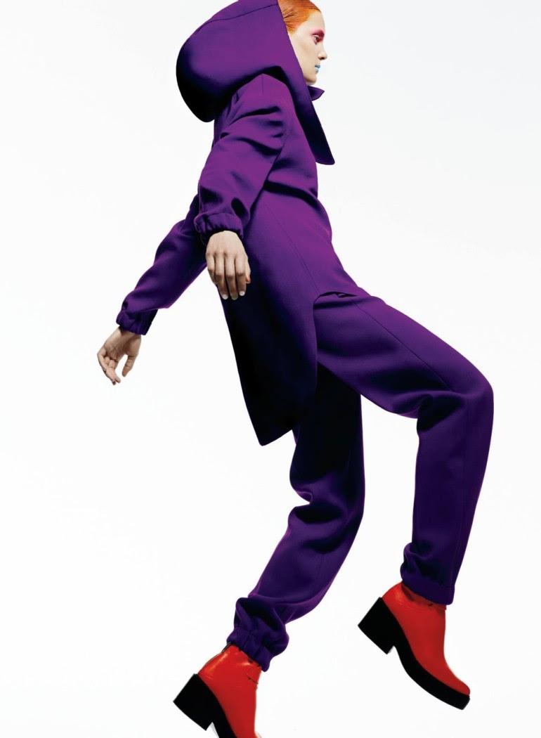 Ashtyn Franklin 'Flashdance' By Moo For Elle Canada 10