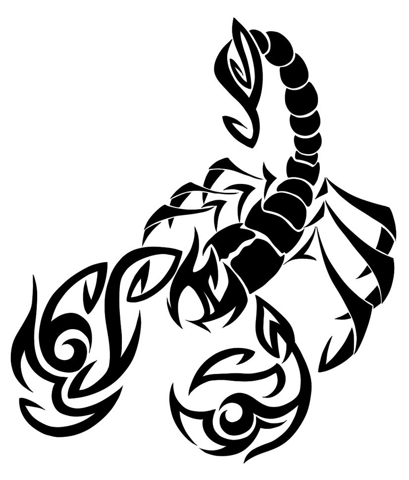 Tribal Scorpion Tattoos Meaning