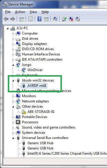 AVRISP mkII Downloader Compatible with Original Programmer Supports AVR Studio