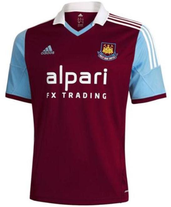 West Ham Adidas Shirt 2013 2014
