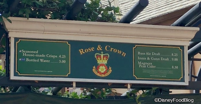 Rose and Crown Outdoor Bar