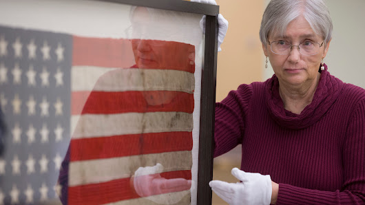 Pearl Harbor: Oil-stained USS Arizona flag to be shown