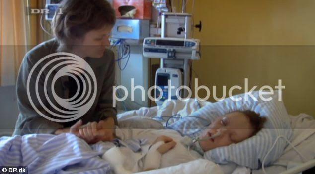 Chica despierta de coma antes de donar órganos